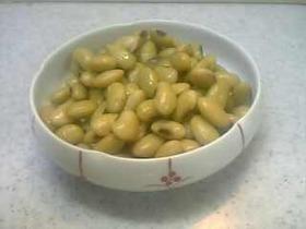 ひたし豆の煮豆☆塩茹で豆・青大豆