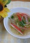超簡単♪レタススープ