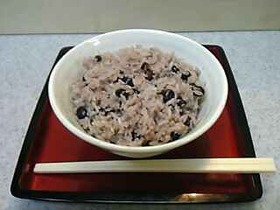 黒大豆☆黒豆の炊き込みご飯