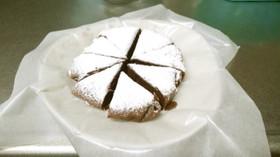 ガトーショコラ風ココアケーキ