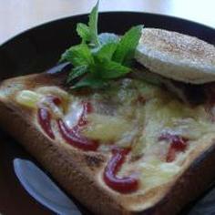 朝から元気!目玉トースト