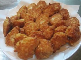 鶏挽肉と豆腐でふんわり和風ナゲット