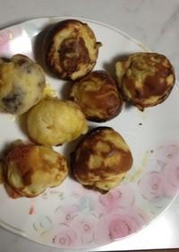 インチキレシピ「デザートたこ焼き」