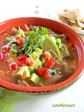 メキシカンチキンスープ