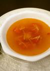 ぽかぽか代謝アップ!生姜とトマトのスープ