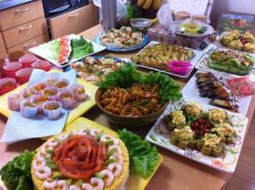 母の日&父の誕生日祝いのメニュー -今日は母の日であると同時に父親の- レシピ・食事 | 教えて!goo