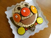 飛んでるアンパンマン♪立体 ケーキ★の写真