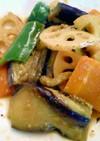 野菜の生姜焼き