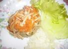 野菜入りハンバーグ