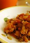 無水鍋で鶏トマト煮込み
