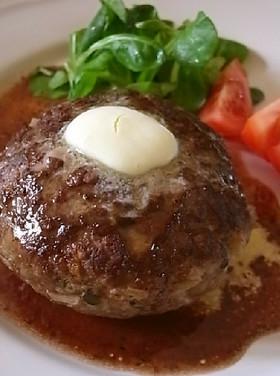 うちのスペシャル大人味ハンバーグステーキ