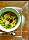 かぶの薬膳風スープ