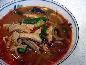 韓国風なから~いスープ