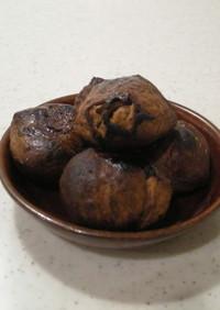 香ばし!渋皮煮の焼き栗(キャラメリゼ風)