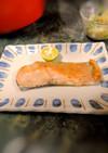 秋鮭の柚子胡椒焼き