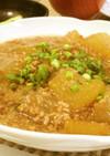 冬瓜とひき肉の煮物
