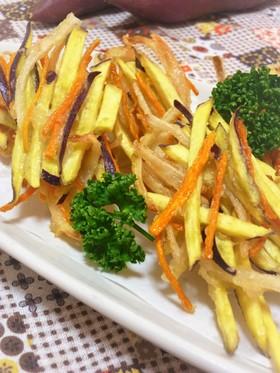 ❋さつま芋と玉葱のかき揚げ❋