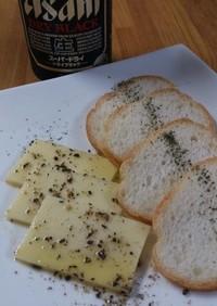 クラフト切れてるチーズのオイル漬け!