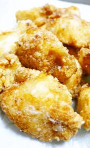お弁当に冷凍作り置き!鶏むね肉の竜田揚げの写真