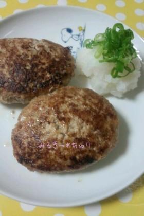 かさまし*豆腐ハンバーグ