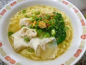アジアンテイストなワンタン麺☆