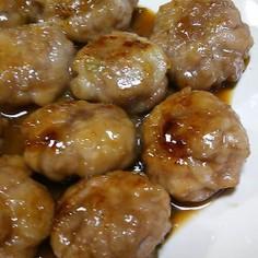 豚こまの肉団子~(⌒‐⌒)