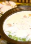 肉団子の豆乳鍋