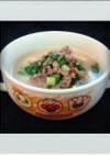 ■糖質制限■豆乳鍋簡単肉味噌担々スープ秋