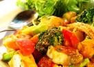 ■チキンといろいろ野菜のデリ風サラダ■