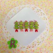 ハム枝豆ピック☆ お弁当簡単おかずの写真