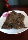 韓国☆名節に使う牛味付け肉