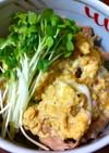 簡単美味しい☆ふわとろ卵かけ豚丼♪