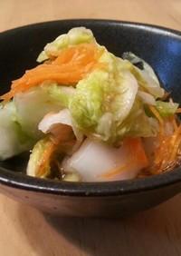 ☆簡単常備菜☆柚子茶を使った白菜の漬け物