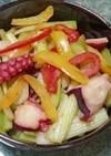 簡単☆タコとセロリのバルサミコ炒め