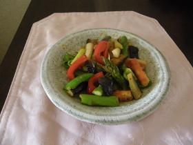 オリーブオイルとコンソメで洋風野菜炒め