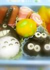 お弁当に♪ かぼちゃと枝豆のお団子
