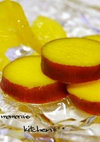 簡単さつま芋のオレンジ煮♬お弁当おやつに