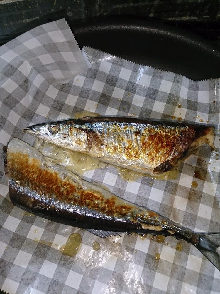フライパンで!!秋刀魚の美味しい焼き方