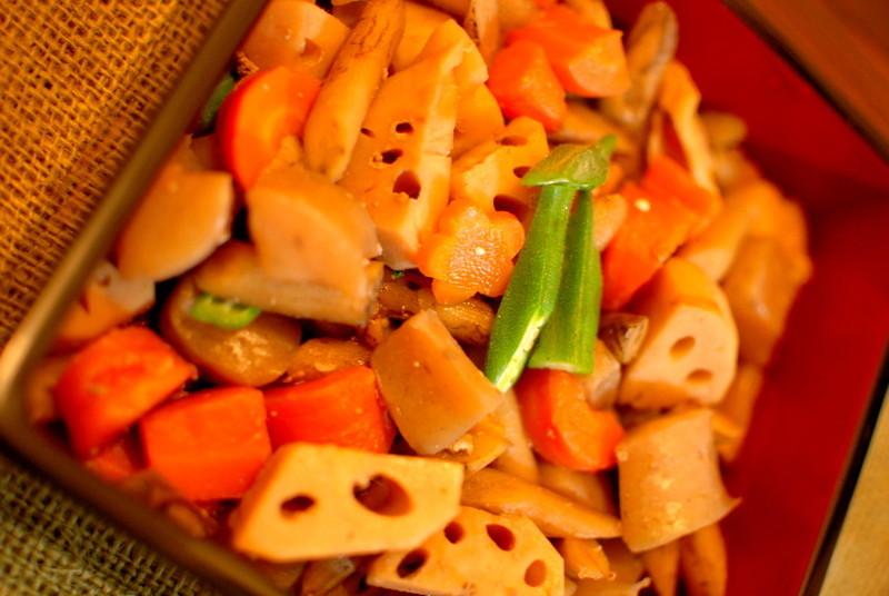根菜たっぷり♪がめ煮(筑前煮)