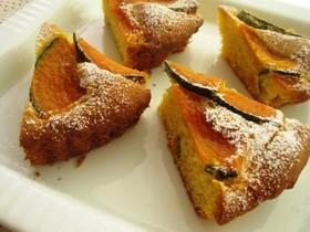 かぼちゃの焼きケーキ