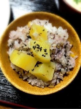 さつまいもご飯(^-^)雑穀米入り