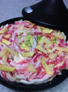 塩麹DE白菜のミルフィーユ鍋