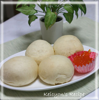 ☆驚きのフワフワ☆白パン