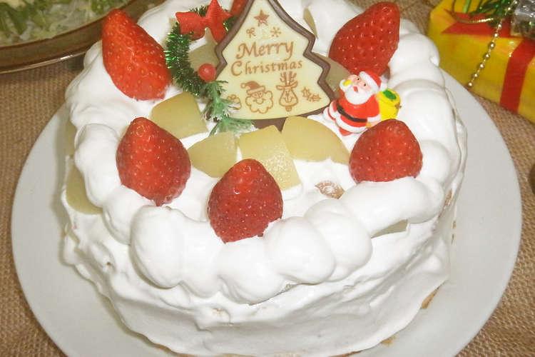 ケーキ 市販 で スポンジ ケーキ の クリスマス