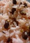 (圧力鍋使用)手作り甘納豆♪のお赤飯