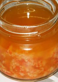 保存がきくハバネロ&ニンニクのオイル漬け