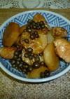 むかごと長芋の親子煮鶏肉入り