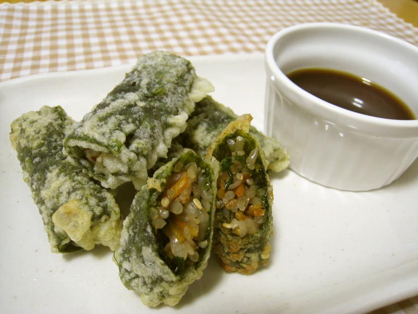 マロニーdeキムマリ(海苔巻き天ぷら)
