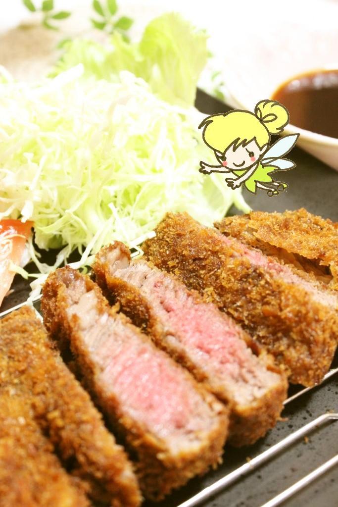 牛ヒレ肉のステーキカツレツ