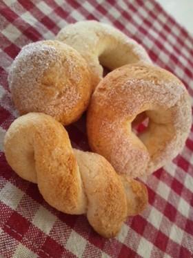 *袋1つ ふんわり♪おから焼ドーナッツ